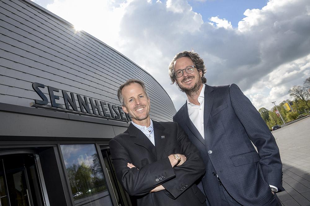 Sennheiser, Wedemark, Daniel und Andreas Sennheiser
